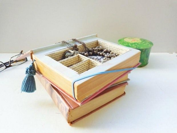 Reuse Old Books and Newspapers - 16 Surprising Craft Ideas