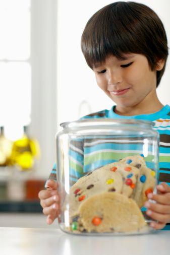 Ricette biscotti giganti con M&M's