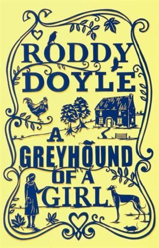 A Greyhound of a Girl - Roddy Doyle - a book with alliteration in the title. Mary's grandmother is in hospital when an old fashioned woman, younger than her own mother, begins to appear on the walk home from school. Who is she and what connection does she have to her grandmother? I loved this gentle and touching middle school novella that celebrates the bonds of family and the entry into womanhood.  5 stars.