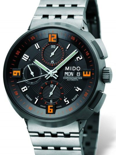 Mido Titanium chronograph https://www.pinterest.com/source/watchtimebrasil.com.br/