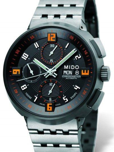 Mido Titanium chronograph https://www.pinterest.com/source/watchtimebrasil.com.br/