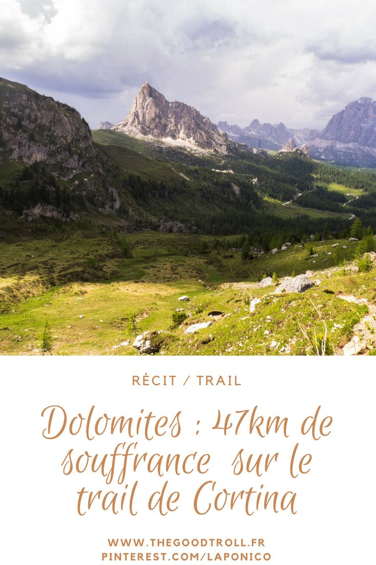 #Trail 47km lors du #Lavaredo Ultra Trail dans les #Dolomites en #Italie : c'est le trail de #Cortina, l'un des endroits les plus beaux du monde. Article, #photos et #vidéo sur www.thegoodtroll.fr