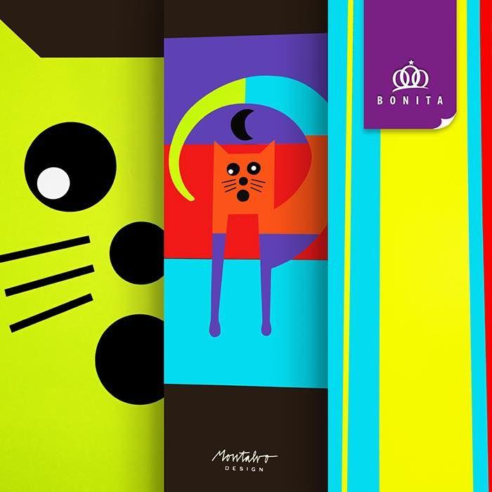 Set de blocks lineabonita gatos minimalista dise o for Zapateros de diseno minimalista