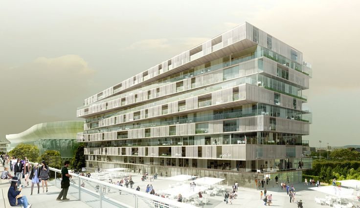 Residential Complex in Nanterre by Farshid Moussavi Architecture