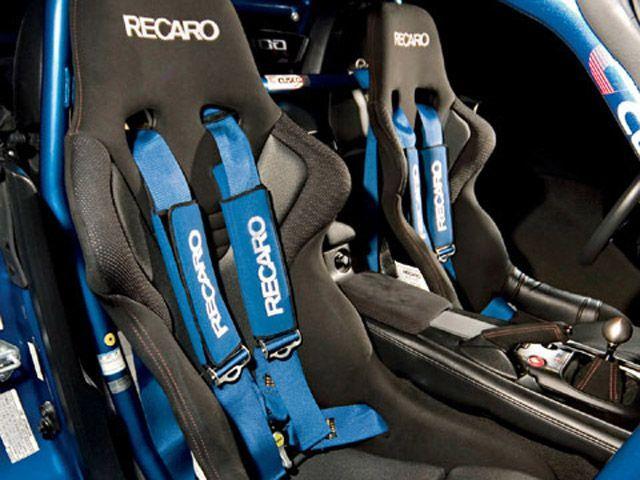 Recaro racing bucket seats fitted