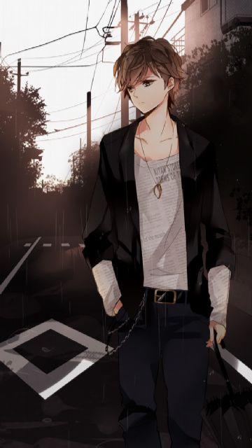 I like how his shirt looks like newspaper :) i like thar effect that the artist put in there :)