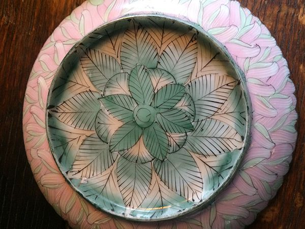 Beautiful Japanese saucer bottom - from NYC 26th Street Flea