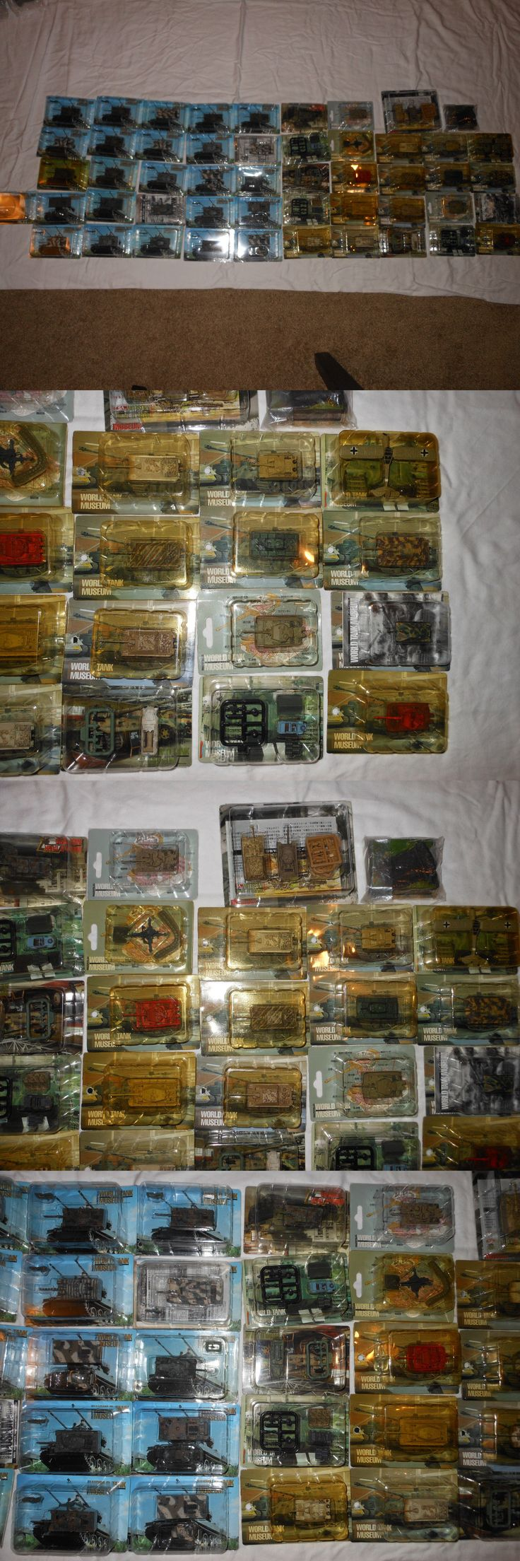 Tanks and Military Vehicles 171138: 51 Piece Takara World Tank Museum 1 144 Scale Collection!!!! -> BUY IT NOW ONLY: $1200 on eBay!