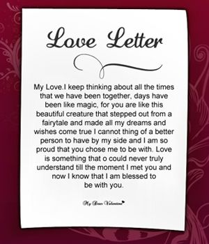 love letter to girlfriend 2