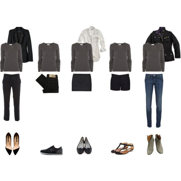 Wardrobe Essentials: The Sweater by coffeestainedcashmere on Polyvore featuring Mulberry, Madewell, Barbour, Burberry, RED Valentino, Ann Demeulemeester, Joseph, Cheap Monday, Isabel Marant and Repetto