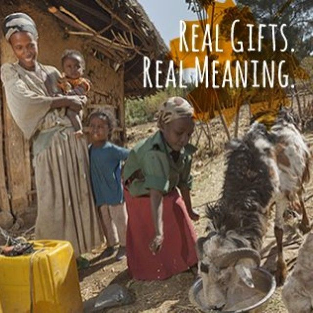 Give sustainability. Shop our holiday gift catalog: http://www.childfund.org/top-ten-gifts/. #RealGifts. Real meaning.