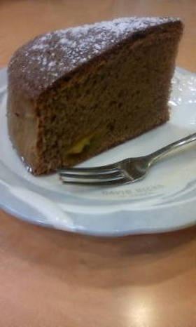 金柑甘露煮チョコレートケーキ