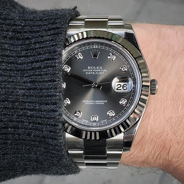 Shades of grey DATEJUST II Ref 116334 | http://ift.tt/2cBdL3X shares Rolex Watches collection #Get #men #rolex #watches #fashion