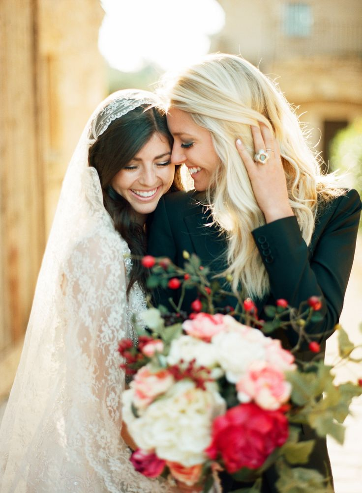 lesbian wedding dresses intimate wedding inspiration in the south of 5502