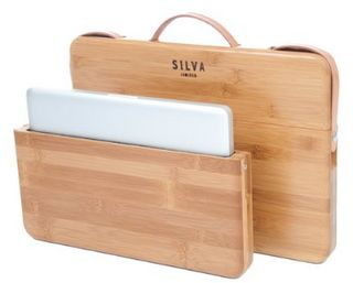 office, work, school, office supplies, work supplies, school supplies, bamboo, laptop, computer, laptop carrying case, computer carrying case, silva, spring office, office accessories, work accessories