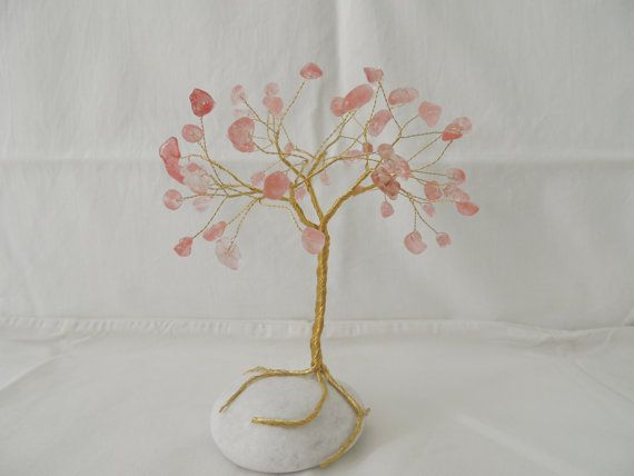 Hey, I found this really awesome Etsy listing at https://www.etsy.com/listing/239292259/cherry-quartz-gemstone-wire-tree