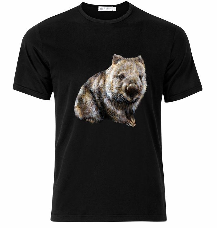 Wombat tshirt  To order visit www.ouranimalsourearth.com
