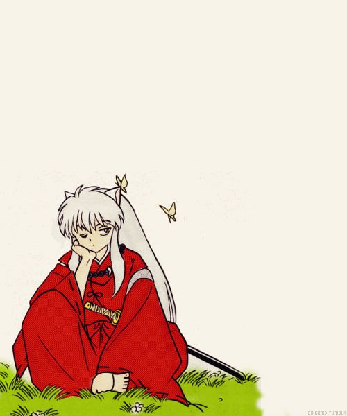 Inuyasha, that lovely tsundere :)