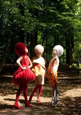 Avant Garde Knitted Fashion!!!  EEEK!    xoxox