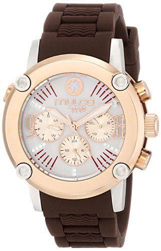 Women\u0027s Wrist Watches - MULCO Womens MW228049033 Analog Display Swiss  Quartz Brown Watch ** For