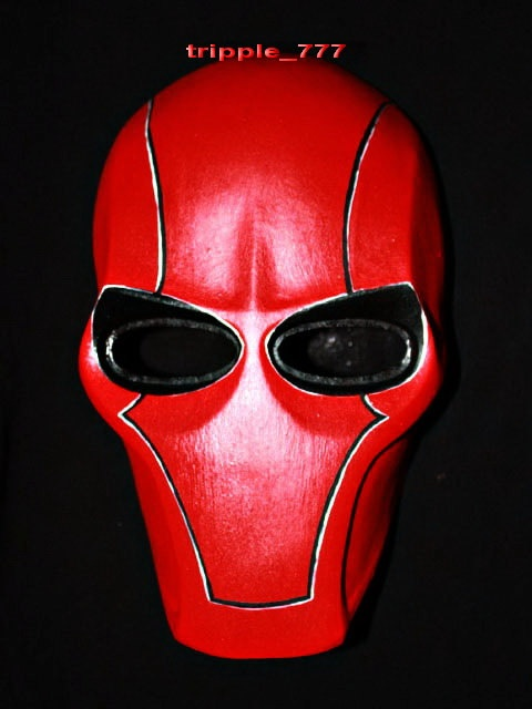 Army of two Airsoft Paintball BB Gun Prop Helmet Salem Costume Cosplay Goggle Mask Maske Masque red hood MA13 et. $110.00, via Etsy.