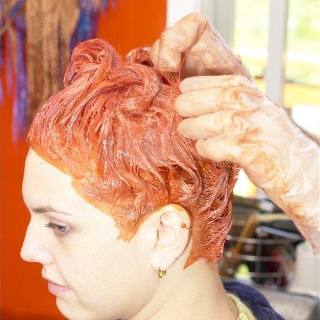 Make Natural Red Hair Dye