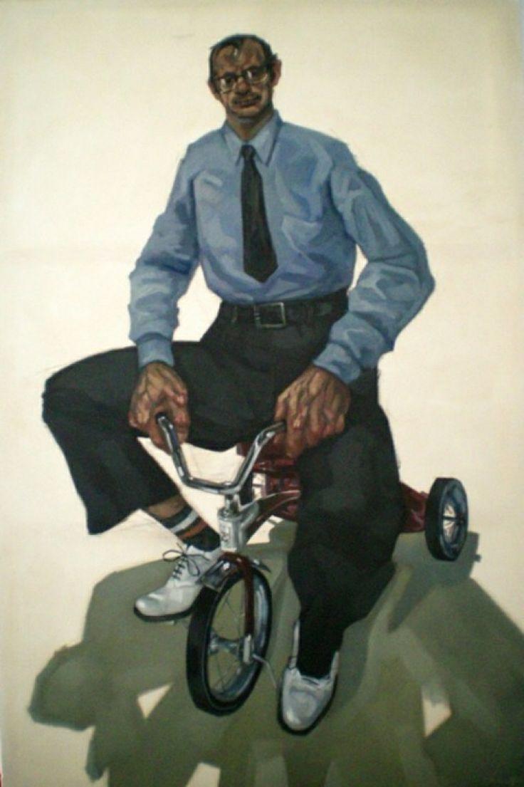 """ST"", 2013, oil on canvas, cm 195x130"