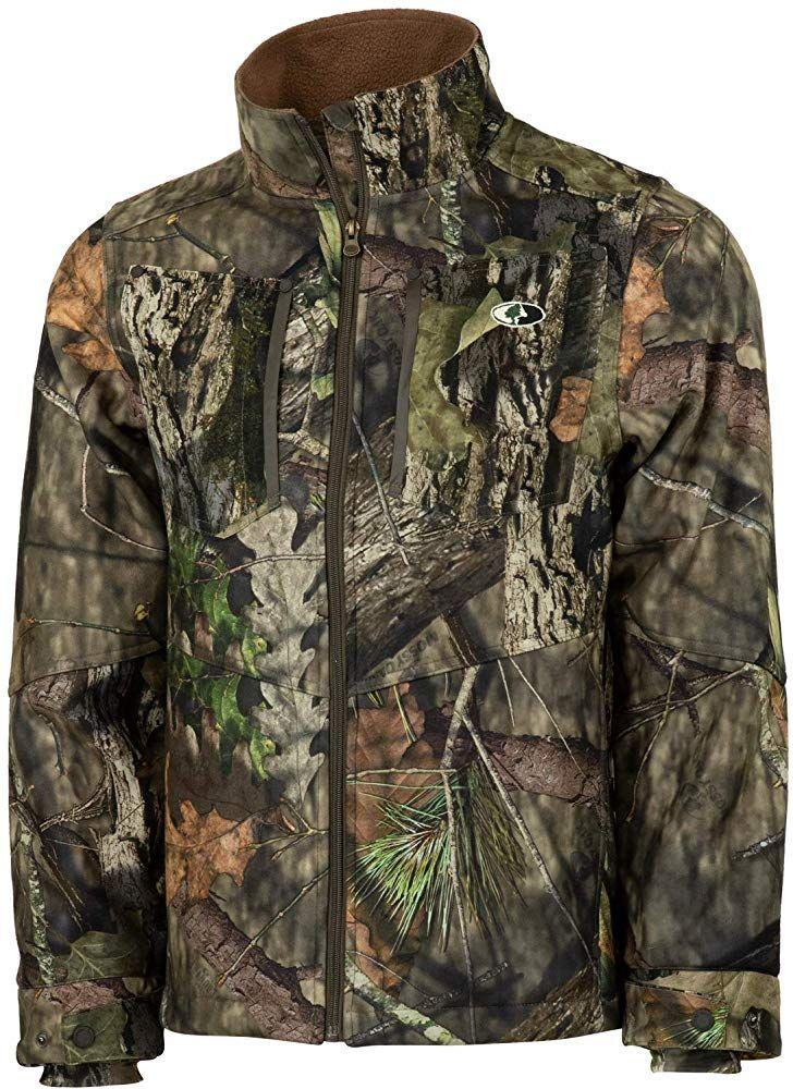 Mens Waterproof Camouflage Jacket Mossy Oak Camo Hunting Fishing Shooting Jacket