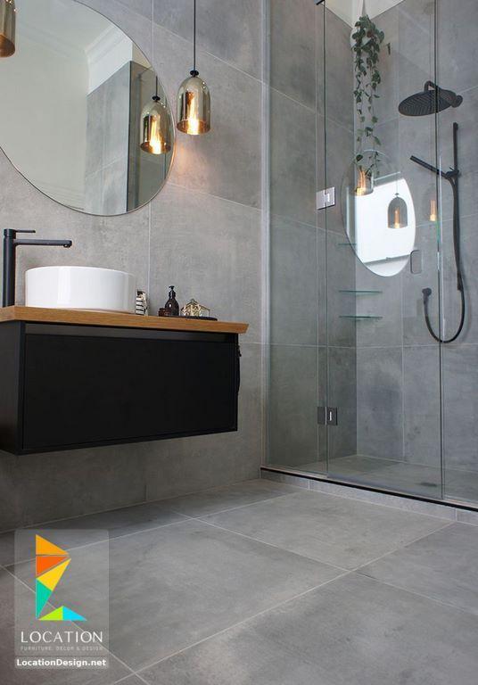 ديكورات حمامات صغيرة المساحة 50 تصميم حمامات مودرن بأفكار رائعة جدا Bathroom Interior Bathroom Design Trendy Bathroom