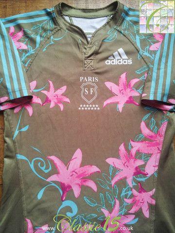 Relive Stade Français Paris' 2007/2008 European season with this vintage Adidas home rugby shirt.