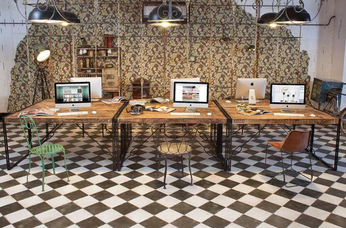 FS BY PERONDA 45x45 #tile #tiles #Sangahtile #interior #design #interiordesign #floor #wall #beige #vintage #old #industrial #타일 #인테리어 #디자인 #바닥 #빈티지 #인더스트리얼 #소품 #디스플레이 #인테리어매장 #가구  빈티지한 가구와도 매치가 잘되는 FS BY PERONDA .
