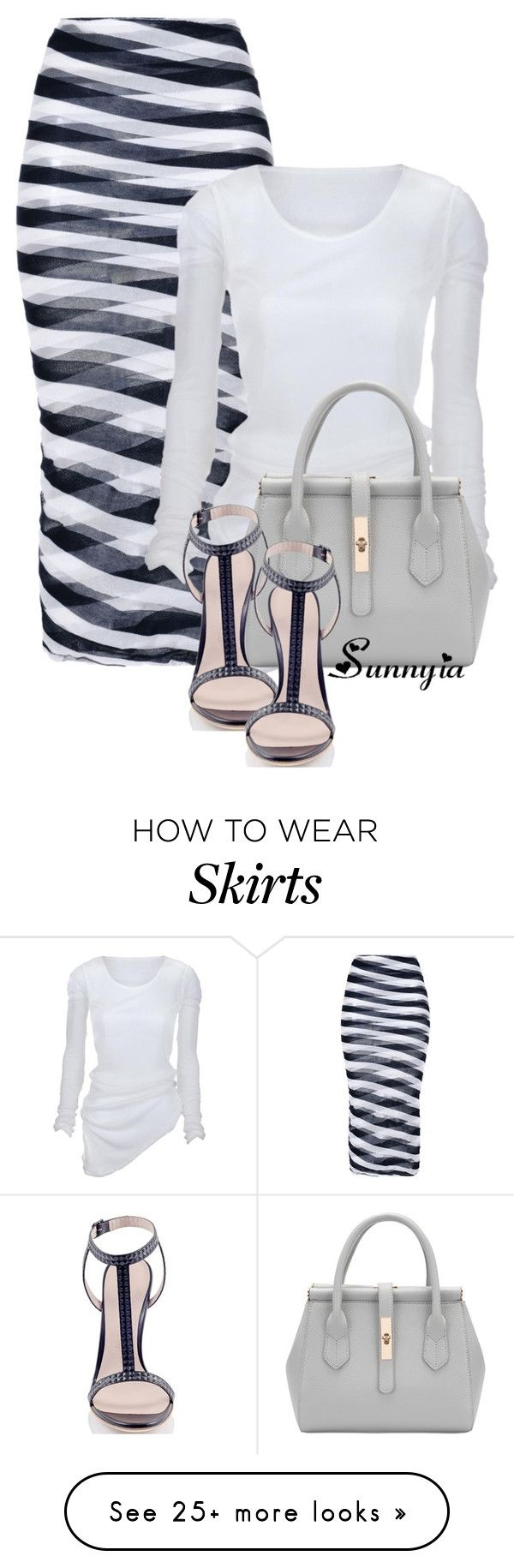 """""""Unique Skirt"""" by sunnyia on Polyvore featuring STELLA McCARTNEY and Konstantina Tzovolou"""