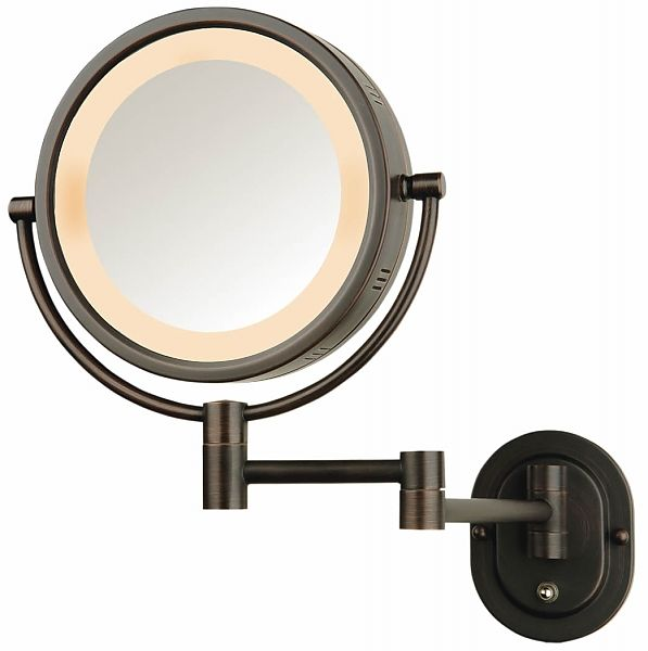 Jerdon Hardwired or Plug In Reversible 5x 1x Wall Mount Lighted Makeup  Mirror140 best Lighted Makeup Mirror images on Pinterest   Lighted  . Plug In Vanity Mirror. Home Design Ideas