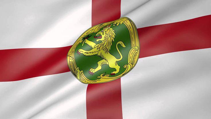 Alderney Animated Flag