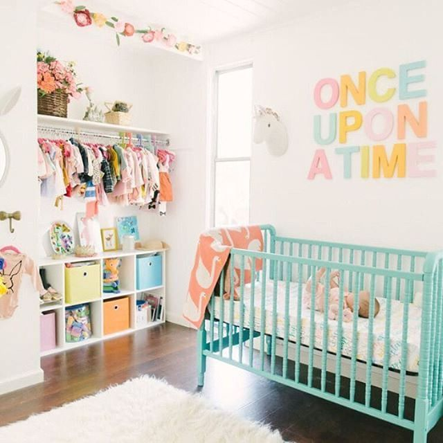 Pretty And Modern Pastel Nursery Design By Tenleyclark