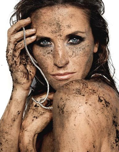 Courtney Cox-only she could look this pretty dirty! lol take a bath!