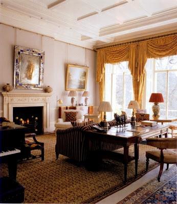 Robert Kime's London flat