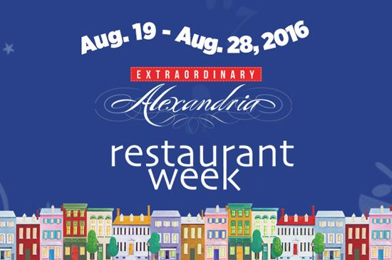 Choose from more than 60 Alexandria restaurants featuring a $35 three-course dinner or a $35 dinner for two at Alexandria Restaurant Week.
