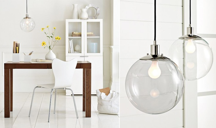 globe pendant l from west elm style at home