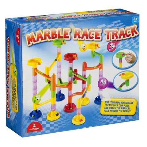 Marble Race Track Game