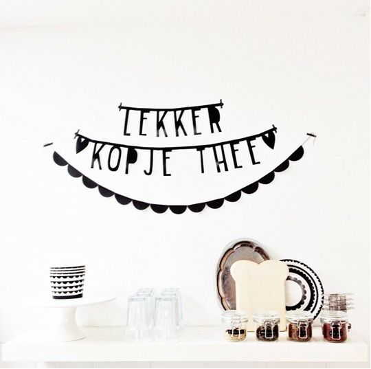 #Wordbanner #tip: Lekker kopje thee - Foto @jethartje - Buy it at www.vanmariel.nl - € 11,95