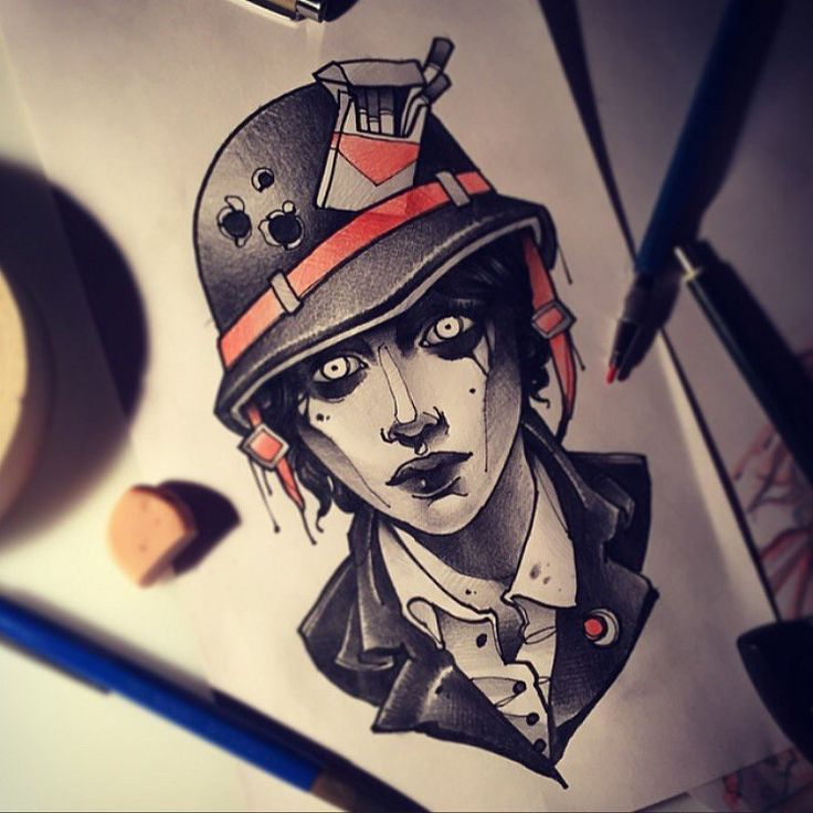 love it <3  http://www.tattooesque.com/soldier-tattoo-sketch-by-vitaly-morozov/