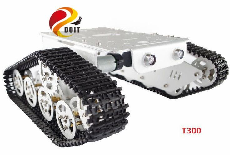 Official DOIT Metal Tank Car Chassis/ robot Chassis for DIY RC tracked Model Crawler Caterpillar Track diy rc toy nodemcu esp826