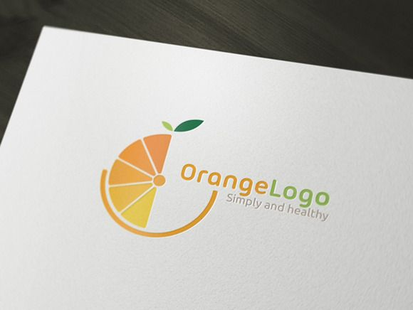 Check out Orange Logo by rotree_man on Creative Market