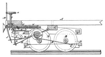 47 best patent drawings images on pinterest inventions for Who invented the electric motor in 1873