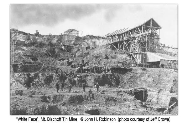 Mining: Mt. Bischoff in Waratah Tasmania