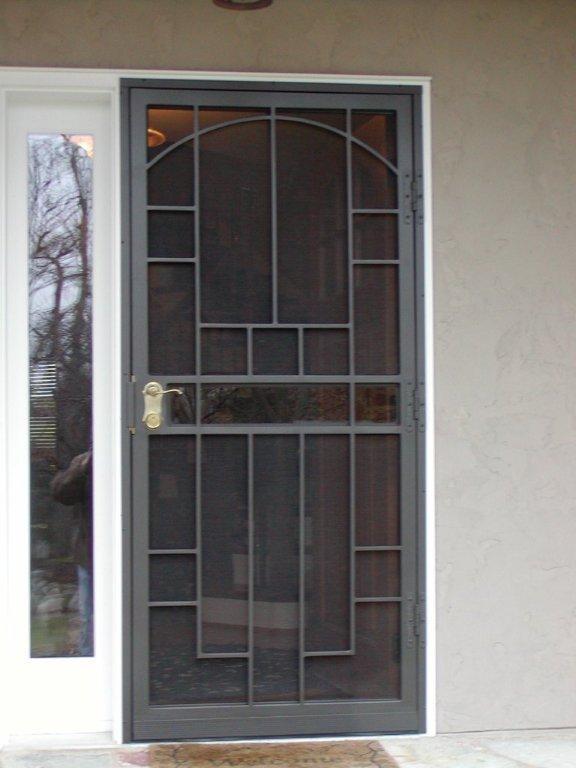 Custom iron storm door & 12 best Iron Storm Doors images on Pinterest | Spiral staircases ...
