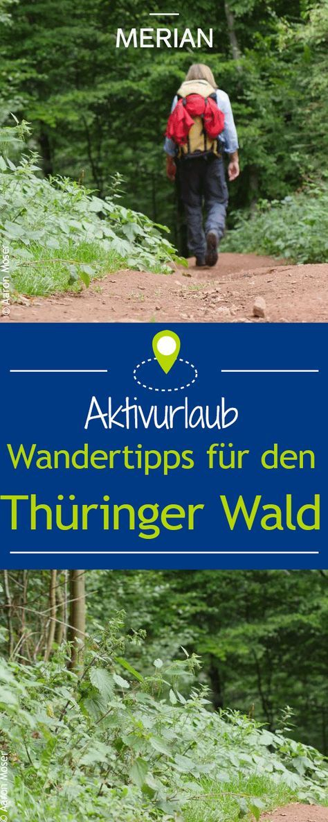 Wandern auf dem Rennsteig Wandern, Thüringer wald und