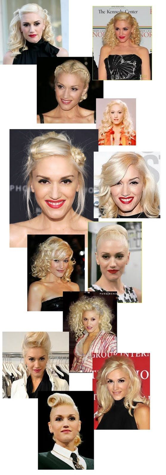 Gwen Stefani: If this is what 45 looks like...I'm in!! I love her style, music and she seems so down to earth and genuinely nice!! Plus, she is married to Gavin....that probably keeps a girl happy!! :)