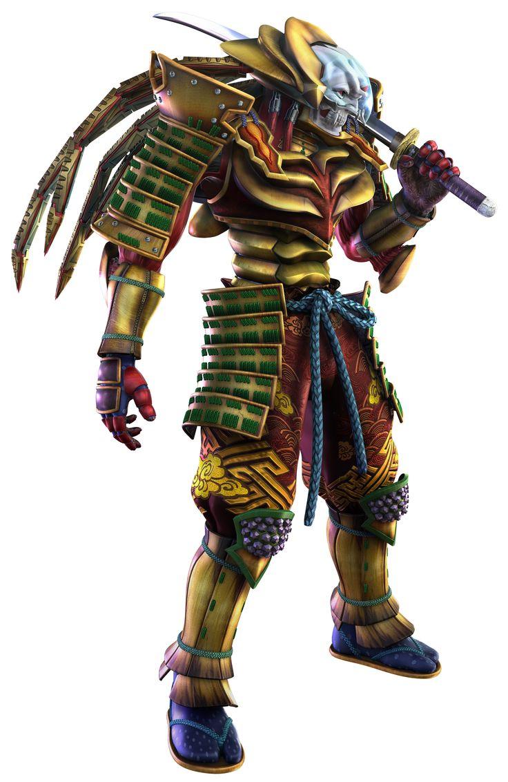 Yoshimitsu iron fist